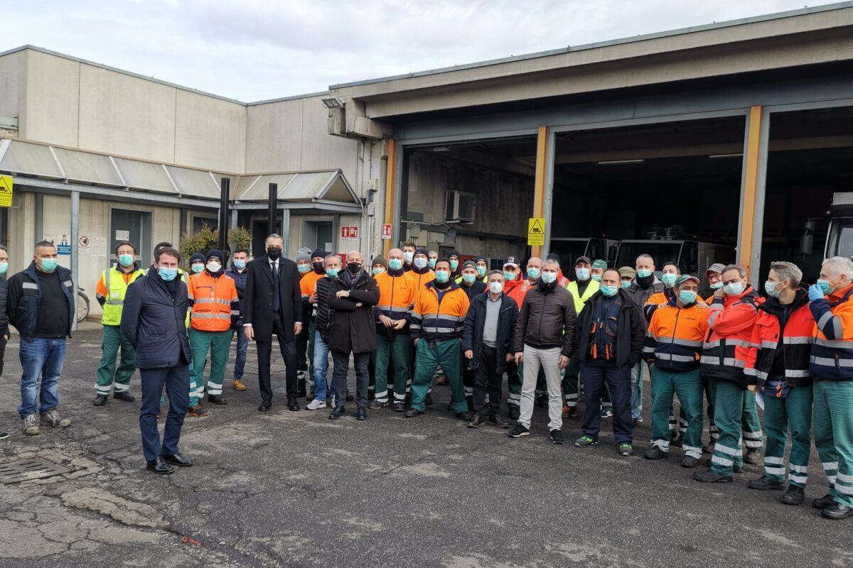 Nord Milano Ambiente: al via i lavori di ristrutturazione e adeguamento della piattaforma ecologica di via Petrella
