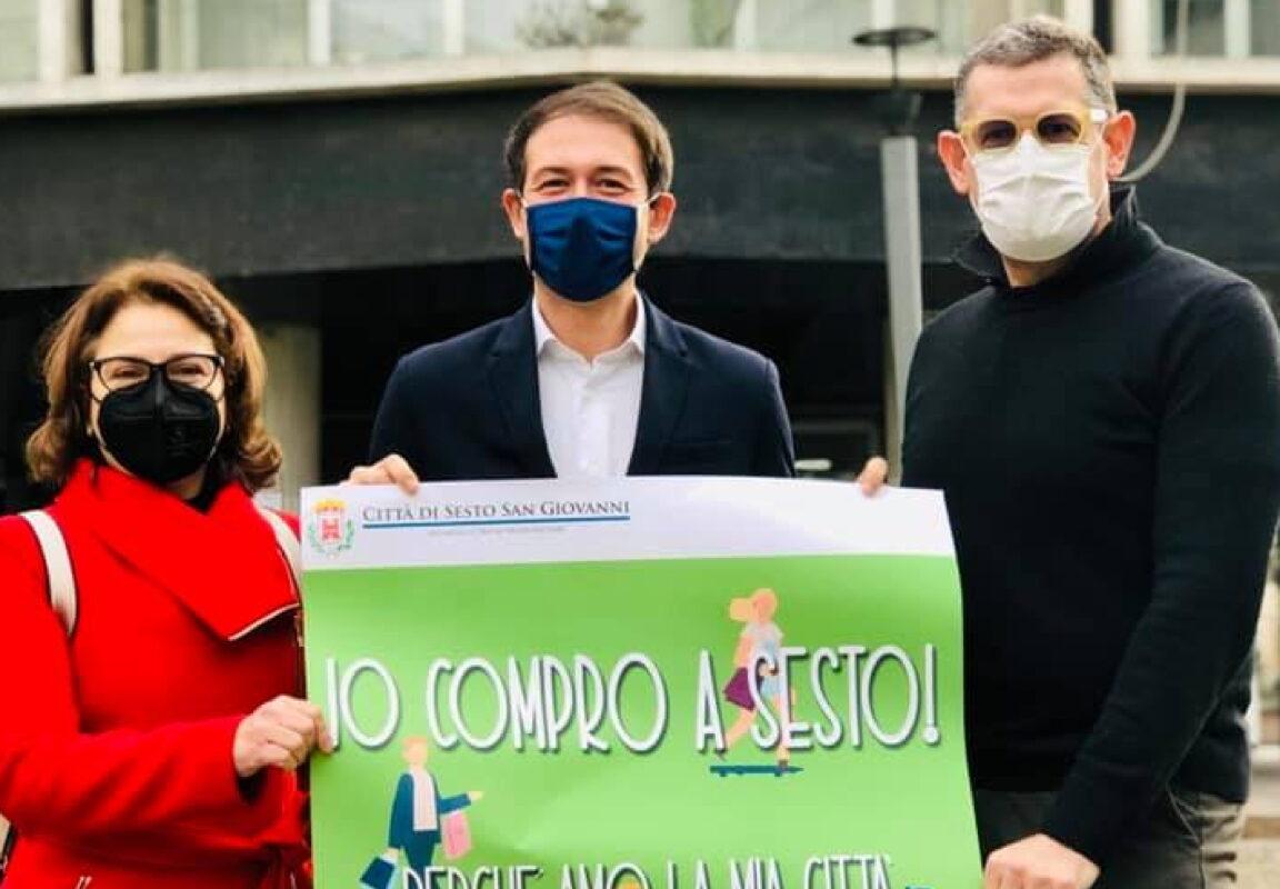 Il Comune lancia la campagna IO COMPRO A SESTO per sostenere i negozi di vicinato