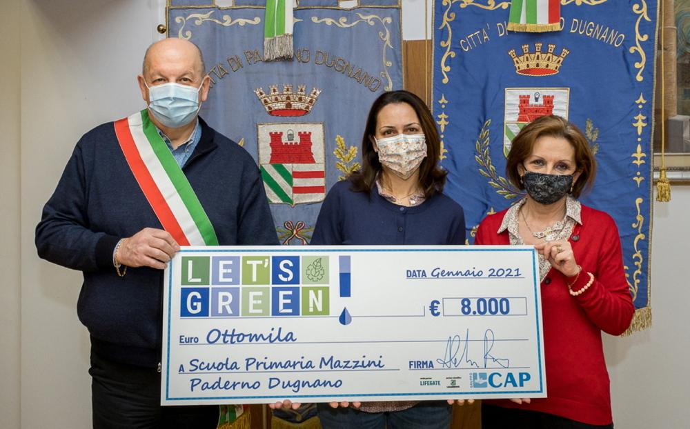 La Scuola Mazzini vince il primo premio del concorso Let's Green