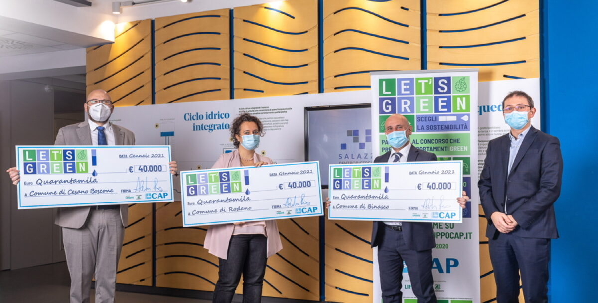 LET'S GREEN!: tra i premiati Cormano, Paderno Dugnano, Brugherio, Segrate e Sesto