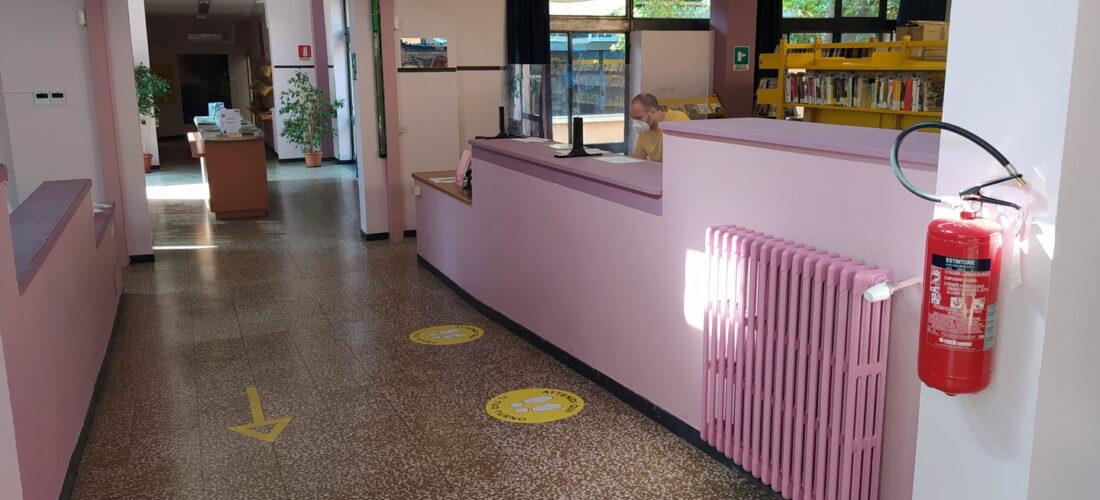 Climatizzazione e restyling: riapre la biblioteca