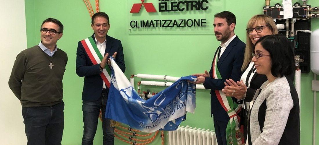 Mitsubishi Electric e Opere Sociali Don Bosco di Sesto San Giovanni inaugurano il Laboratorio di Climatizzazione